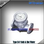 FLOW METER NITTO SEIKO TYPE B-FF COLD AND HOT WATER SIZE 2 INCH (50MM)