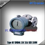 FLOW METER NITTO SEIKO TYPE RC 25A SIZE 1 INCH (25MM)