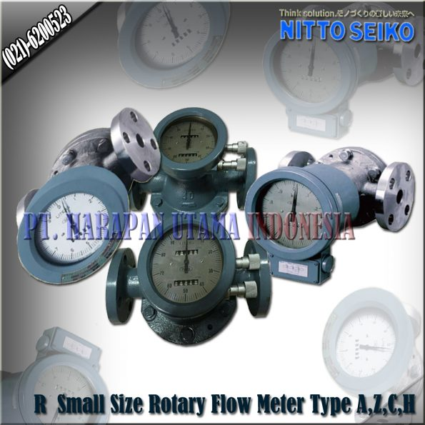 JUAL FLOW METER NITTO SEIKO TYPE R A,Z,C,H 20C, 20B, 25C, 25A SIZE 3/4, 1 INCH (20MM S/D 25MM )